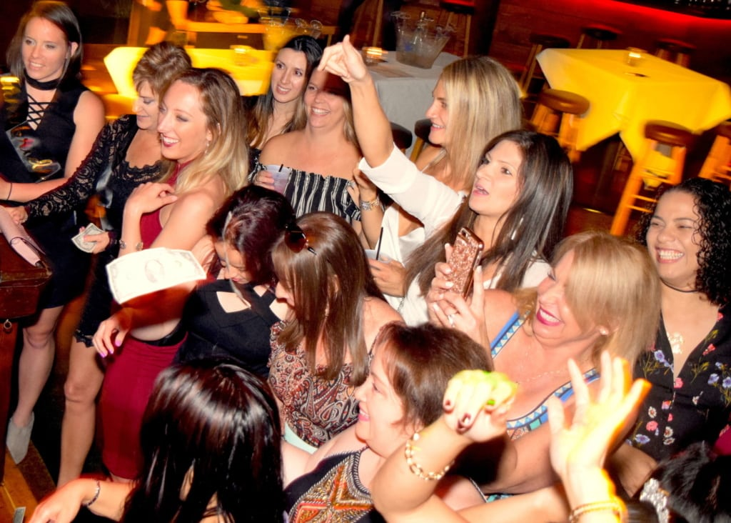 The Perfect Girl's Night out: Men In Show Male Revue Night Club!